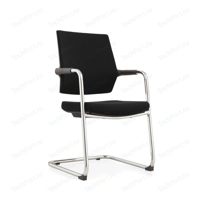 Кресло офисное NORDEN Стайл 1 CF/ хром/черная сетка/черная ткань