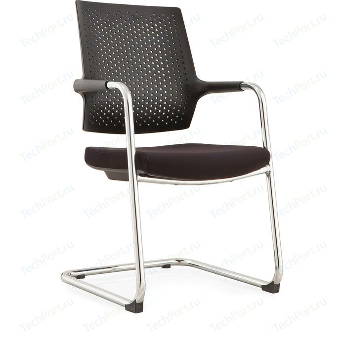 Кресло офисное NORDEN Стайл 2 CF/ хром/черная ткань/спинка черный пластик