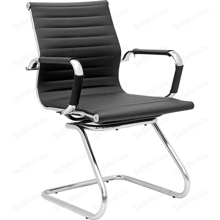 Фото - Кресло офисное NORDEN Техно CF/ хром/черная экокожа кресло офисное norden президент сталь хром черная экокожа