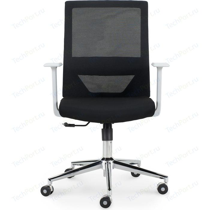 Кресло офисное NORDEN Трэнд grey LB/ серый пластик/черная сетка/черная ткань