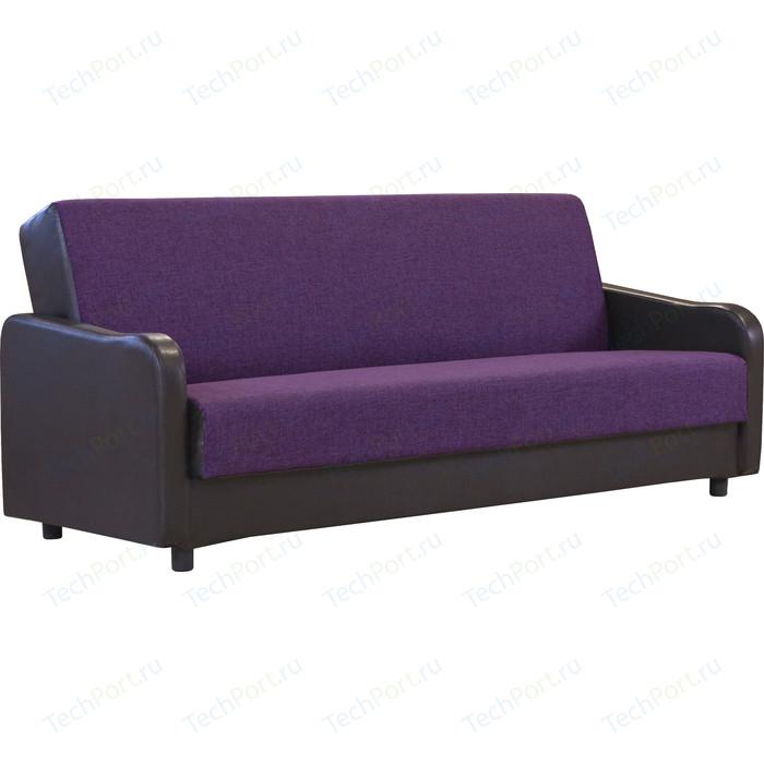 Диван-книжка Шарм-Дизайн Лига 2 фиолетовый