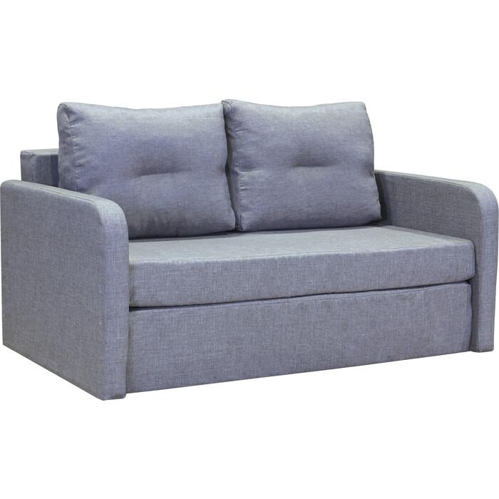 Диван Шарм-Дизайн Бит-2 светло-серый кровать