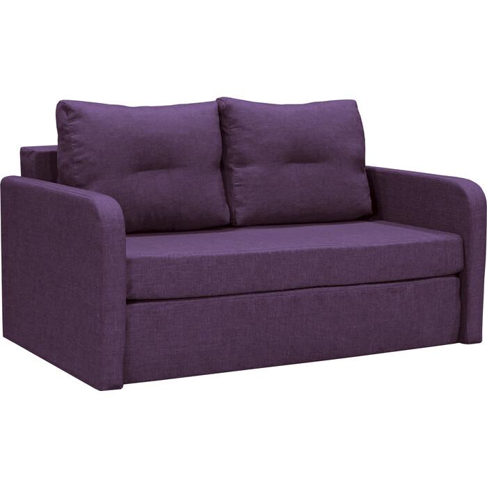 Диван Шарм-Дизайн Бит-2 фиолетовый кровать