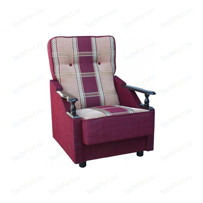 Кресло Шарм-Дизайн Классика ДП бордовая
