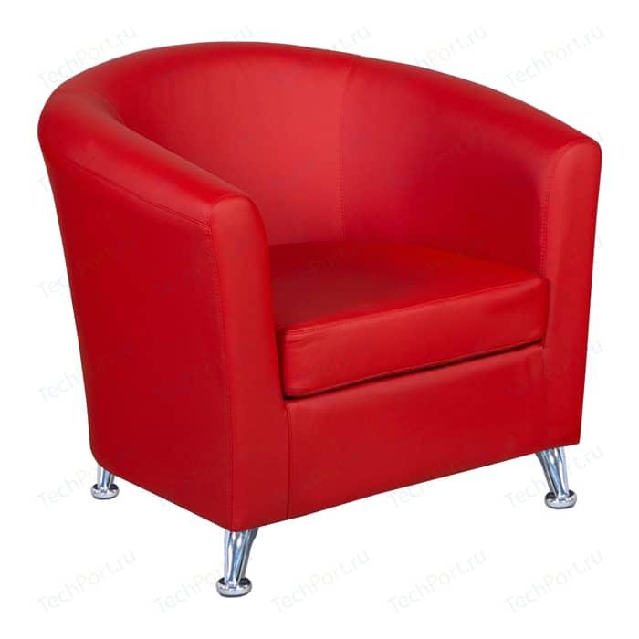 Кресло Шарм-Дизайн Евро экокожа красный