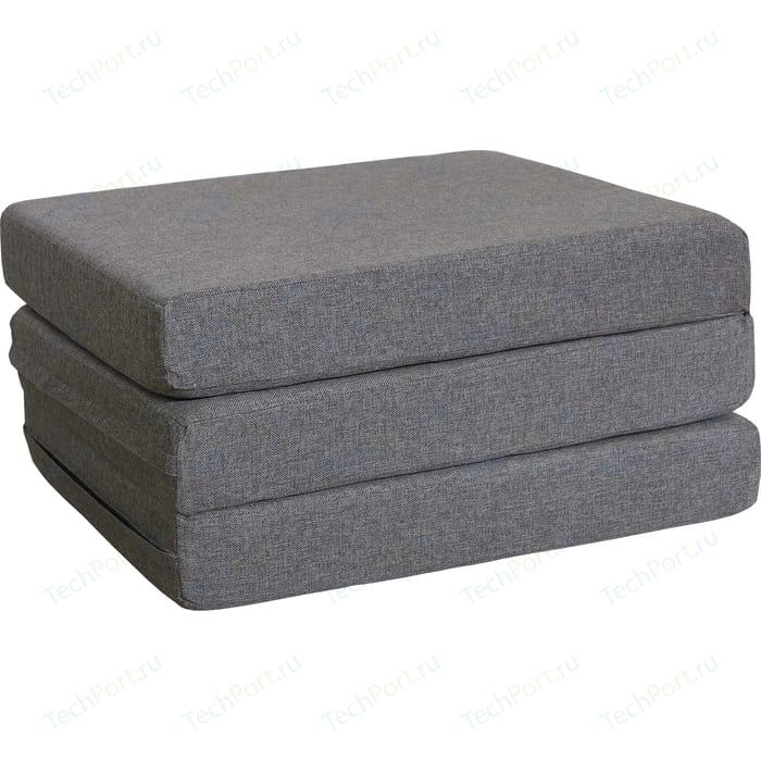 Пуф-трансформер Шарм-Дизайн Шаг серый