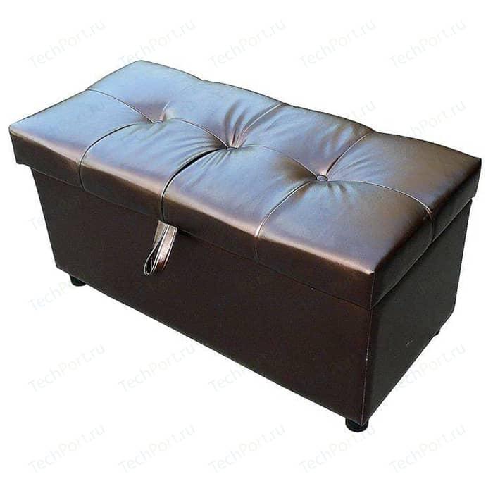 Пуф Шарм-Дизайн Рондо 70 коричневый