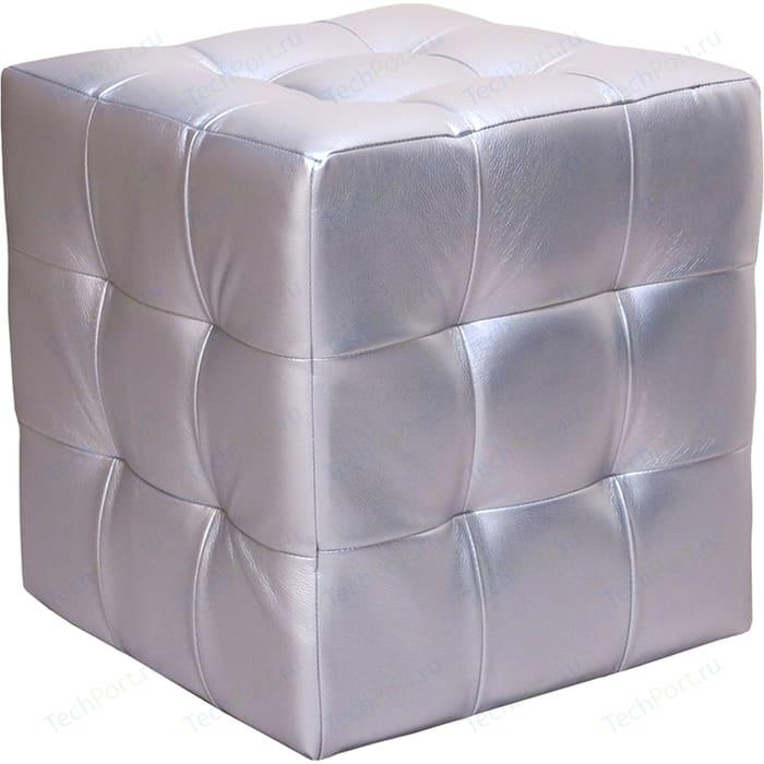 Пуф Шарм-Дизайн Квадро серебро слайдер дизайн milv f190 серебро