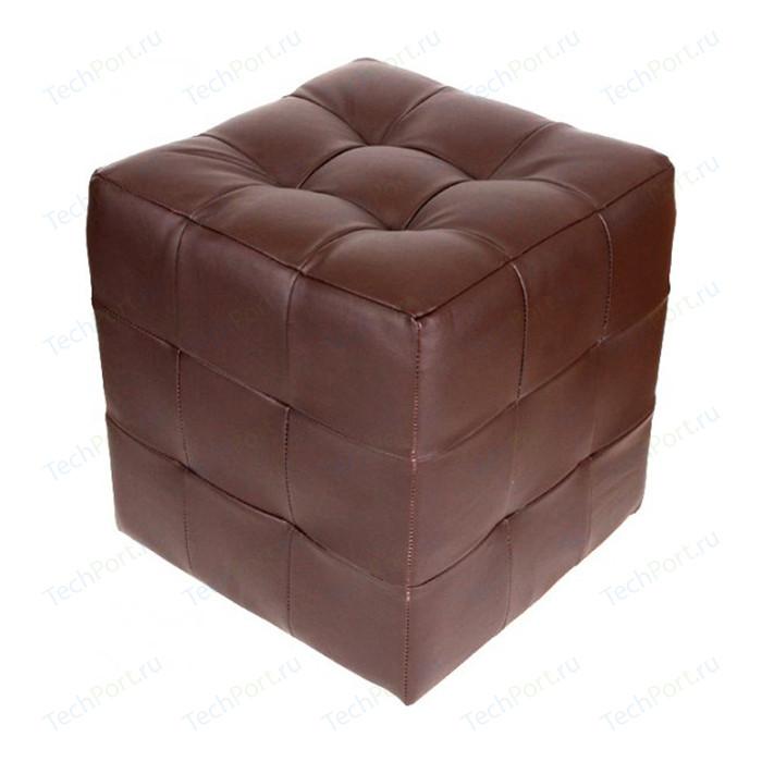 Пуф Шарм-Дизайн Квадро шоколад пуф шарм дизайн рондо 70 шоколад