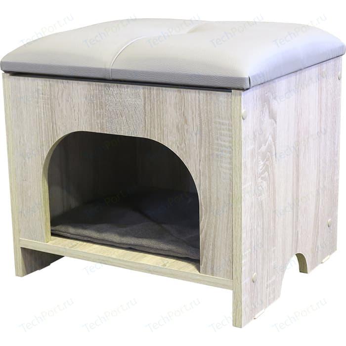 Пуф Шарм-Дизайн Кошкин дом с крышкой