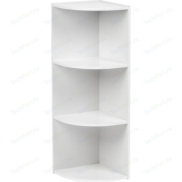 Шкаф угловой открытый Гамма Уют белый