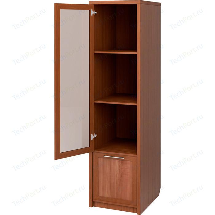 Шкаф с полками Гамма Прима комбинированный стекло простое