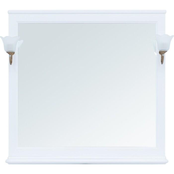 Зеркало Aquanet Валенса 105 белое матовое (238830)