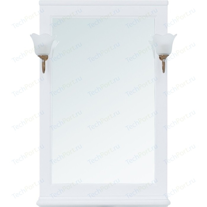 Зеркало Aquanet Валенса 65 белое матовое (238828)