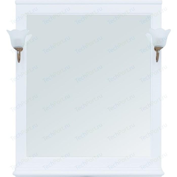 Зеркало Aquanet Валенса 85 белое матовое (239975)