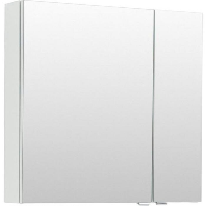 Зеркальный шкаф Aquanet Порто 70 белое (241748)