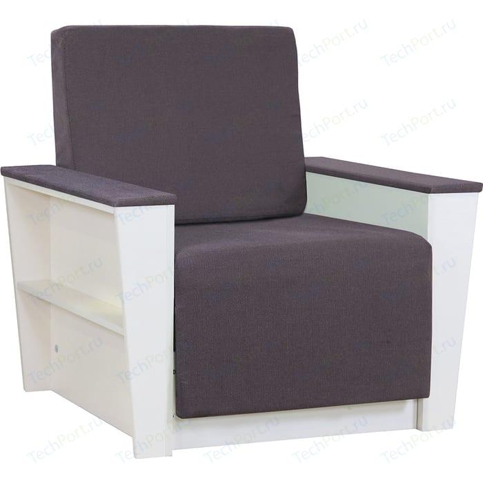 Кресло Шарм-Дизайн Бруно 2 рогожка серый кровать