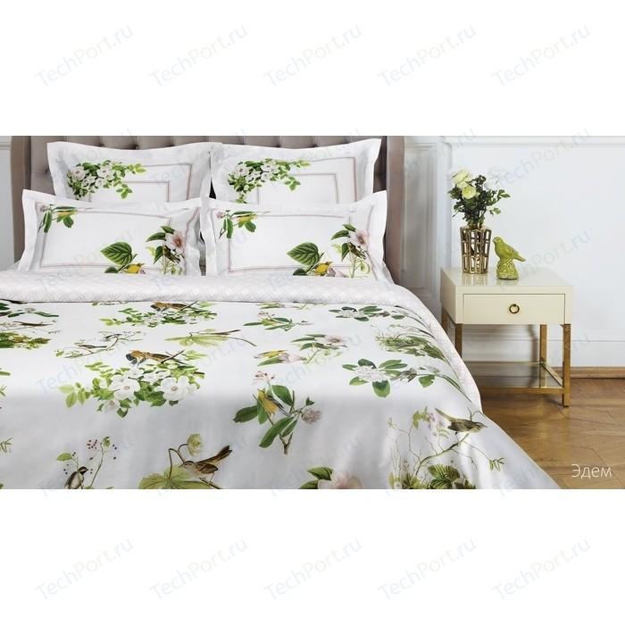 Комплект постельного белья Ecotex 2 сп, сатин люкс, Новеллика Эдем (4660054342493)