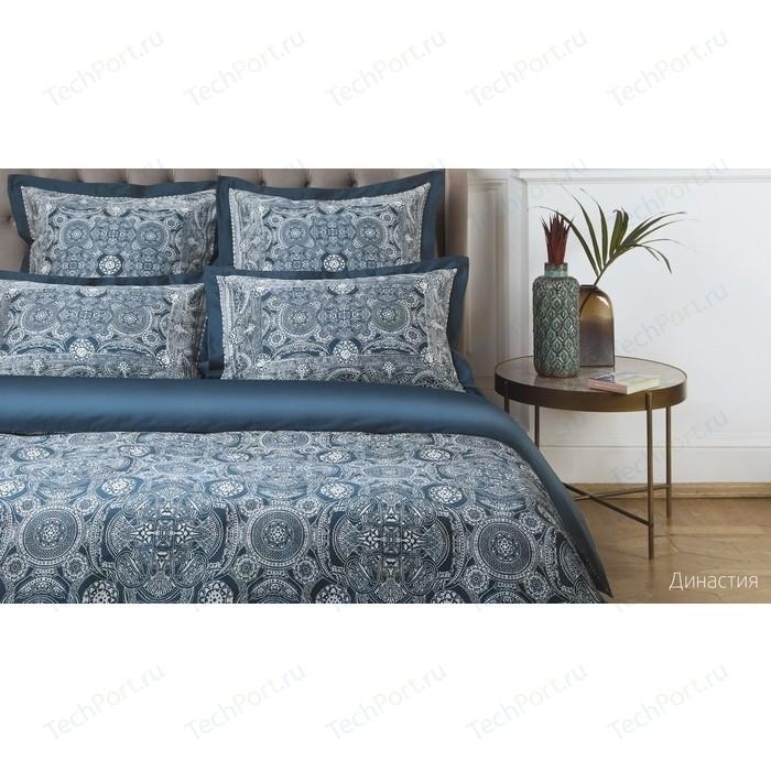 Комплект постельного белья Ecotex семейный, сатин люкс, Новеллика Династия (4660054342486)