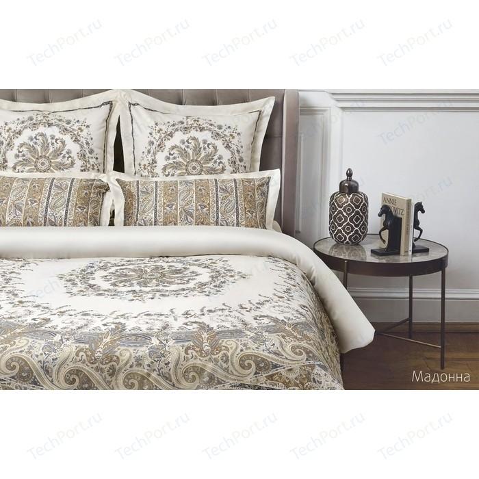 Комплект постельного белья Ecotex семейный, сатин люкс, Новеллика Мадонна (4660054342400)