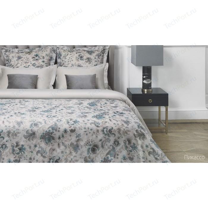 Комплект постельного белья Ecotex семейный, сатин люкс, Новеллика Пикассо (4660054342929)