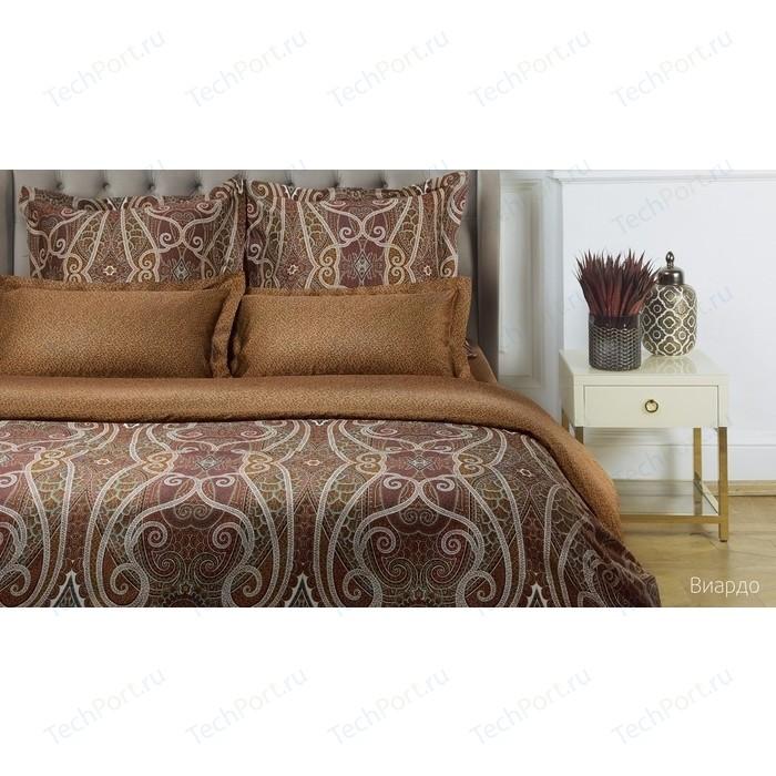 Комплект постельного белья Ecotex евро, сатин люкс, Новеллика Виардо (4660054342424)