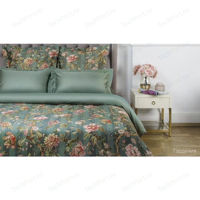 Комплект постельного белья Ecotex евро, сатин люкс, Новеллика Гардения (4660054342868)