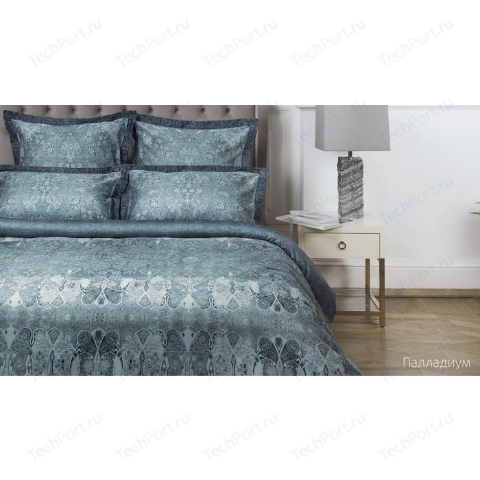 Комплект постельного белья Ecotex евро, сатин люкс, Новеллика Палладиум (4660054342547)