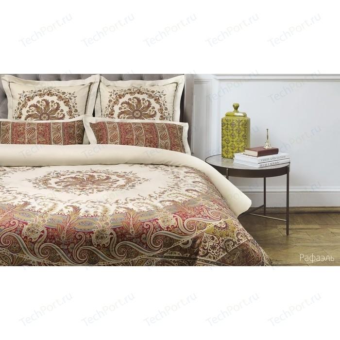 Комплект постельного белья Ecotex евро, сатин люкс, Новеллика Рафаэль (4660054342660)
