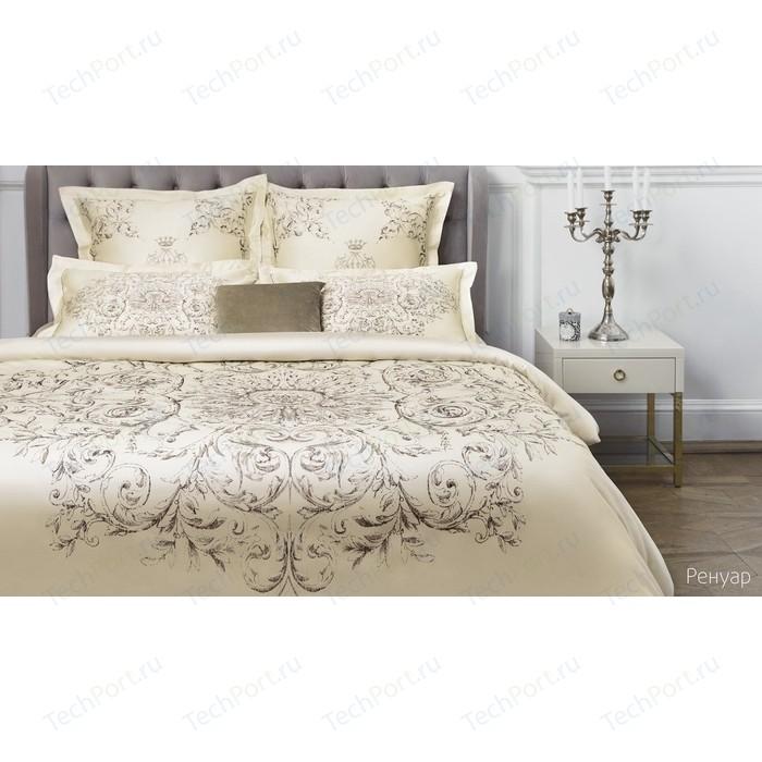 Комплект постельного белья Ecotex евро, сатин люкс, Новеллика Ренуар (4660054342943)