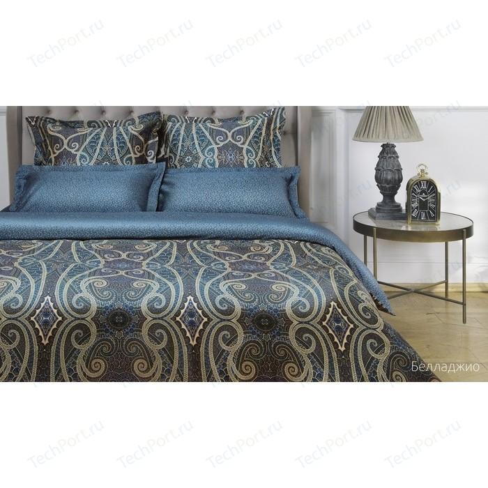 Комплект постельного белья Ecotex евро макс, сатин люкс, Новеллика Белладжио (4660054342714)