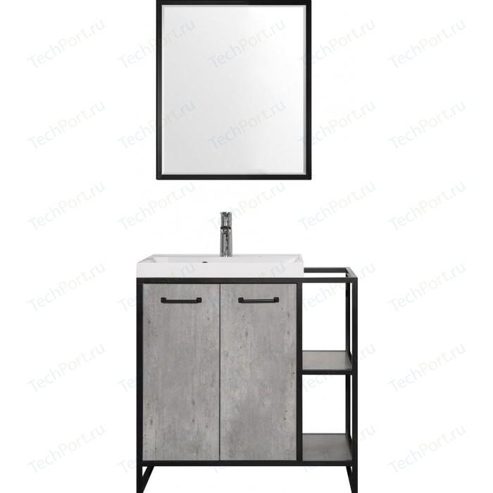 Мебель для ванной Style line Лофт 80 бетон