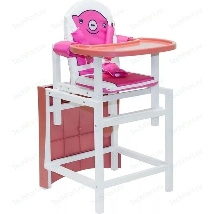 Стульчик для кормления Сенс-М серия BABYS лакированный арт. PIGGY