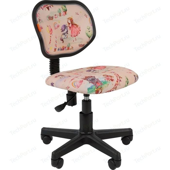 Кресло Chairman Kids 106 ткань принцессы черный