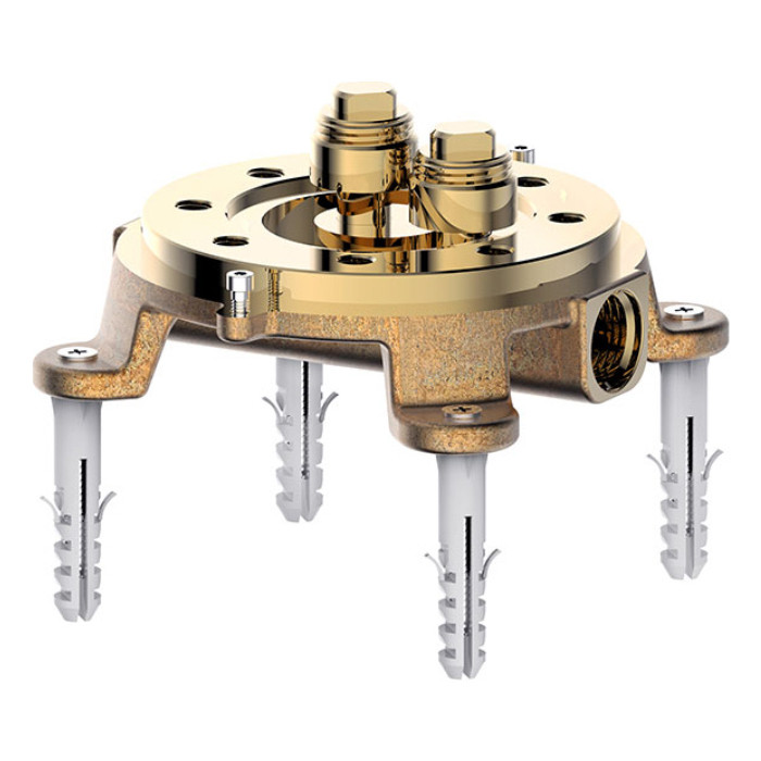 Механизм Bravat Arc для напольного смесителя (D9102N-ENG)