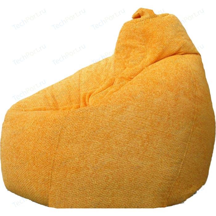 Кресло-мешок POOFF Груша велюр персиковый XL