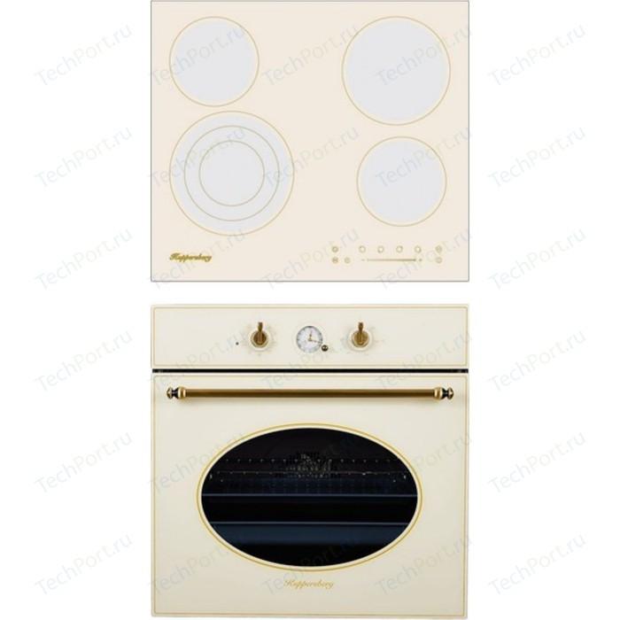 Встраиваемый комплект Kuppersberg ECS 603 C + SR 663 (bronz)