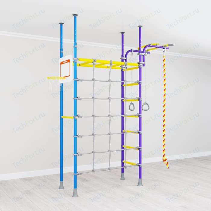 Детский спортивный комплекс Romana R4 (01.40.7.06.490.03.00-66) сиренево/голубой
