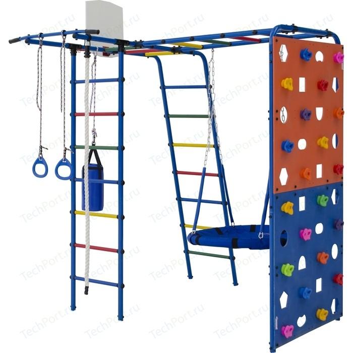 Детский спортивный комплекс Формула здоровья Street 2 синий радуга
