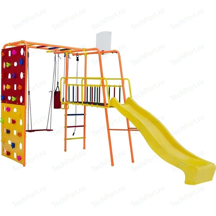 Фото - Детский спортивный комплекс Формула здоровья Street 3 Smile оранжевый радуга детский спортивный комплекс формула здоровья street 1 белый радуга