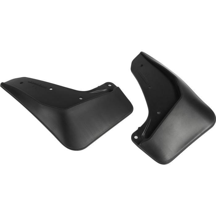 Брызговики задние Rival для Mazda 6 III (GJ) рестайлинг седан (2018-н.в.), полиуретан, 2 шт., с крепежом, 23802003