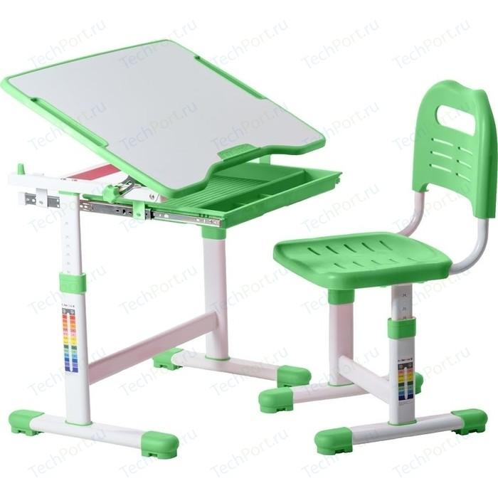 Комплект парта + стул трансформеры FunDesk Sole green