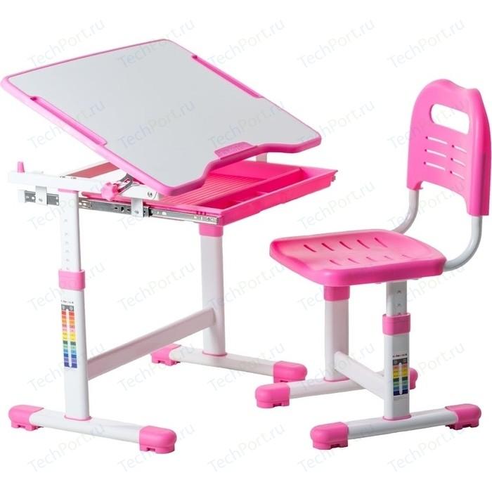 Комплект парта + стул трансформеры FunDesk Sole pink