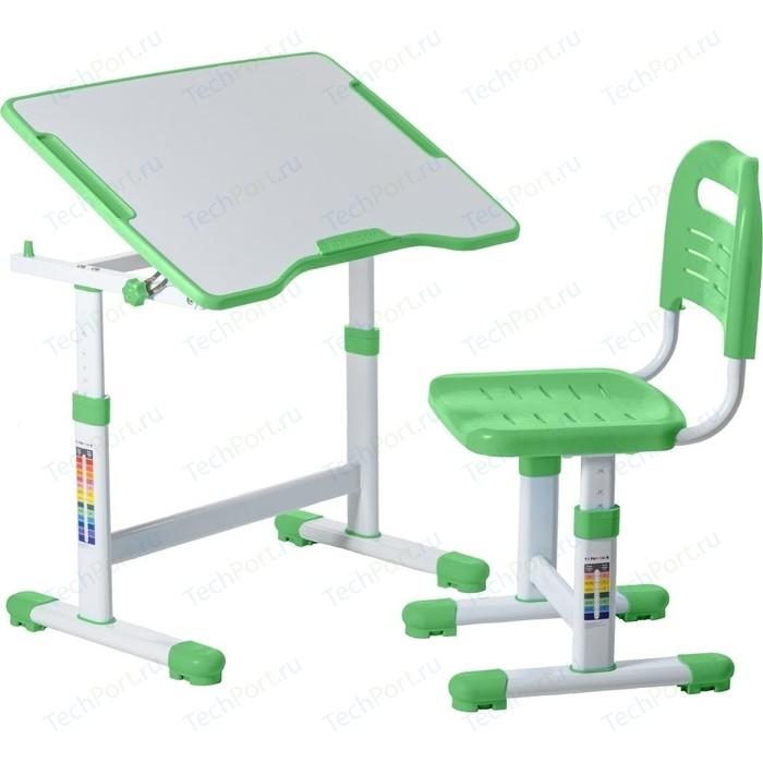 Комплект парта + стул трансформеры FunDesk Sole II green