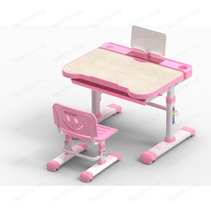 Комплект парта + стул трансформеры FunDesk Bellissima pink