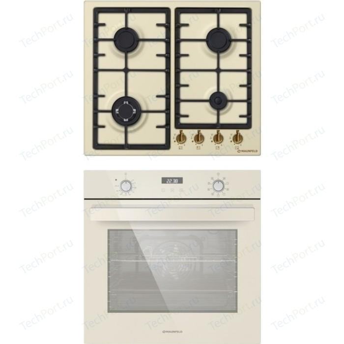 Встраиваемый комплект MAUNFELD EGHE.64.33CBG.R/G + EOEM.769BG electric brass cabinet maunfeld eoem 769bg ivory