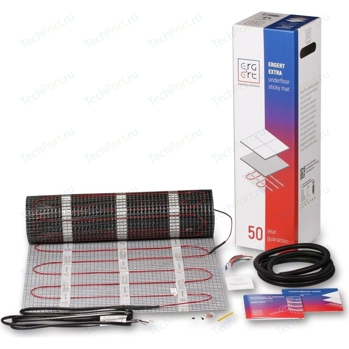 Нагревательный мат ERGERT EXTRA-150 375 Вт, 2,5 кв.м.