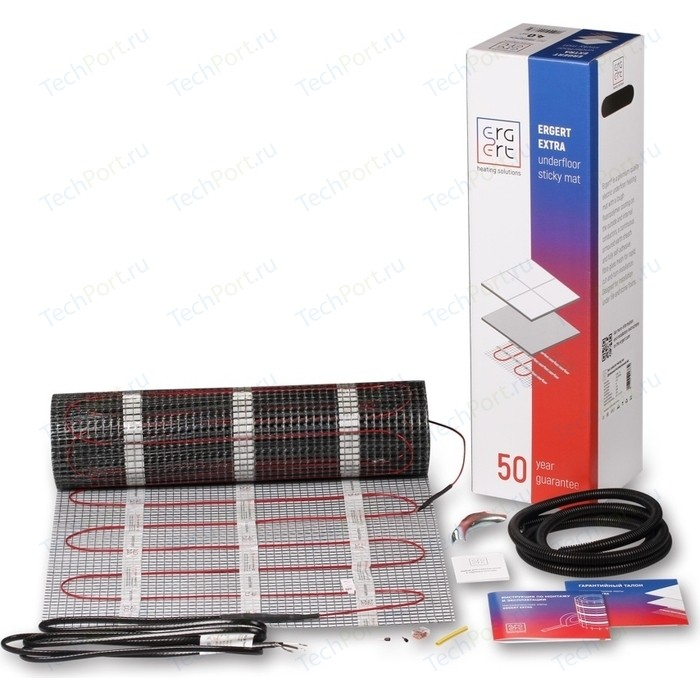 Нагревательный мат ERGERT EXTRA-200 200 Вт, 1 кв.м.