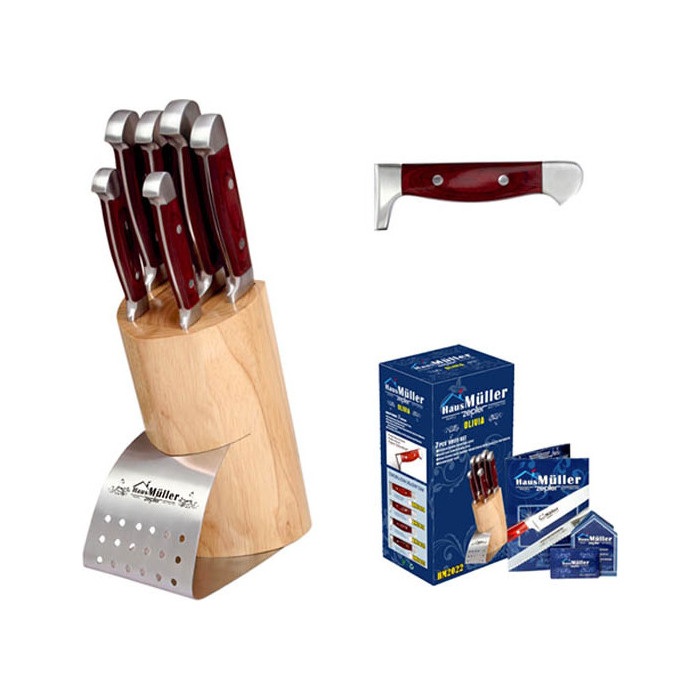 Набор ножей 7 предметов Haus Moller (HM-2022)