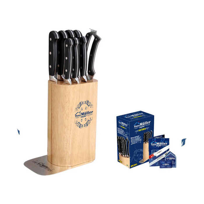 Набор ножей 9 предметов Haus Moller (HM-2005)